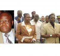 Mayobo, Laure-Marie Kawanda et le Chef de l'Etat Joseph Kabila.