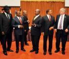 Les dirigeants des pays de la CIRGL, réunis le 8 septembre 2012 à Kampala. DR.